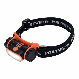 Portwest PA70 USB Rechargeable LED Head Light