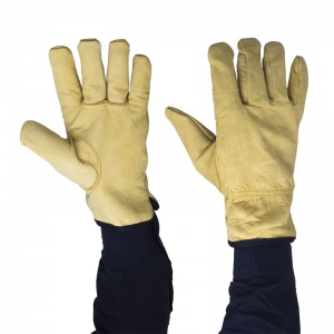 Polyco Daytona Lined Leather Gloves DR100