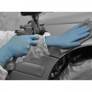 Polyco Bodyguards GL891 Nitrile Chemical-Resistant Disposable Gloves with Extended Cuff