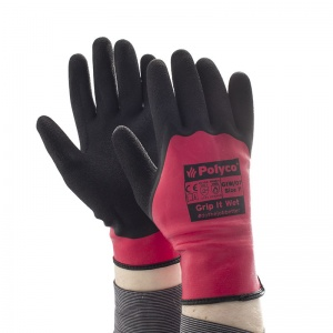 Polyco Grip It Wet Heat-Resistant Gloves GIW