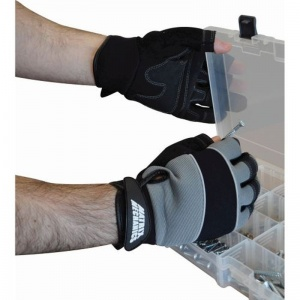 Polyco Matrix Three Finger Mechanics Work Gloves MAT-M3