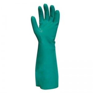Polyco N-Dura 45 Chemical-Resistant Synthetic Rubber Gauntlets ND45