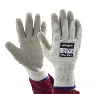 Polyco Reflex Therm Fleece-Lined Outdoor Work Gloves 8632/8633/8634