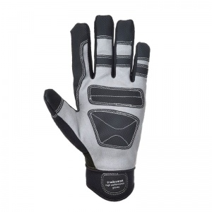 Portwest A710BK Heavy-Duty Leather Gloves