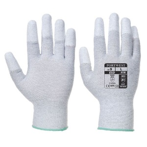 Portwest A198GR Anti-Static Lightweight Grey Gloves