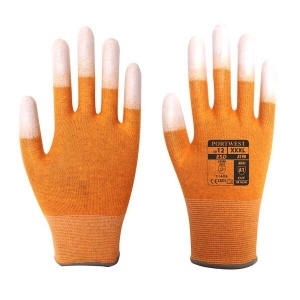Portwest A198OR Anti-Static Lightweight Orange Gloves