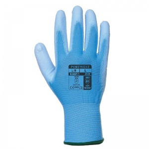 Portwest A120B4 PU Palm-Coated All-Round Blue Gloves