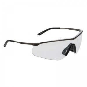 Portwest Tech Metal Spectacle Clear Safety Glasses PS16CLR