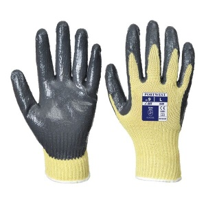 Portwest A600 Nitrile Palm-Coated Grip Gloves