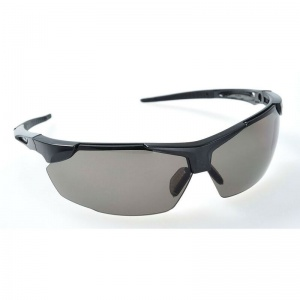 Portwest Defender Smoke-Tinted Safety Glasses PS04SKR