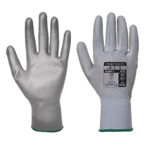 Portwest A120GR PU Palm-Coated All-Round Grey Gloves