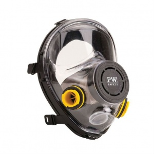 Portwest Vienna Class 2 Panoramic Full Face Mask P500BKR