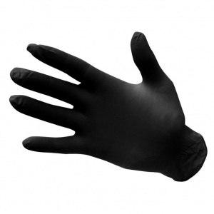 Portwest Black Powder-Free Disposable Nitrile Gloves A925BK