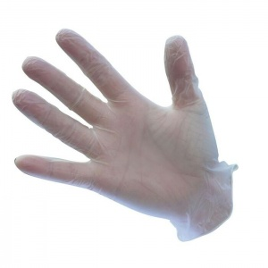 Portwest Clear Powdered Vinyl Disposable Gloves A900CL