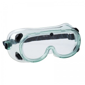 Portwest Chemical Clear Safety Goggles PS21CLR