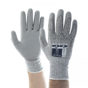 Portwest A620GR PU Palm-Coated Heat-Resistant Grey Gloves