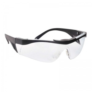 Portwest Vultus Wraparound Clear Safety Glasses PW10CLR