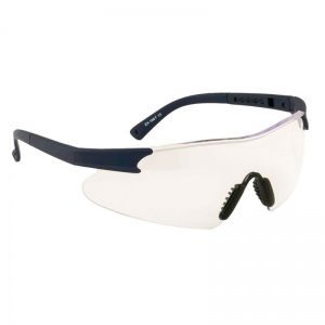 Portwest Curvo Clear Lens Safety Glasses PW17CLR