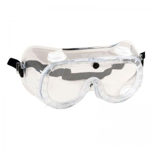 Portwest Indirect Vent Clear Lens Safety Goggles PW21CLR