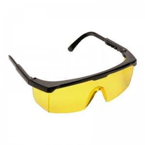 Portwest Amber Lens Classic Panoramic Safety Glasses PW33AMR