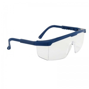 Portwest Clear Lens Classic Panoramic Safety Glasses PW33
