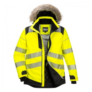 Portwest PW369 Hi-Vis Winter Parka Jacket