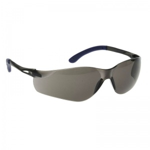 Portwest Smoke Lens Pan View Sport Safety Glasses PW38