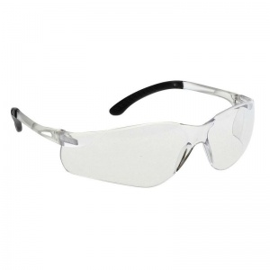 Portwest Clear Lens Pan View Sport Safety Glasses PW38