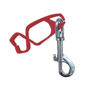 Portwest A001RE Outdoor Workers Red Glove Clip (Pack of 40)