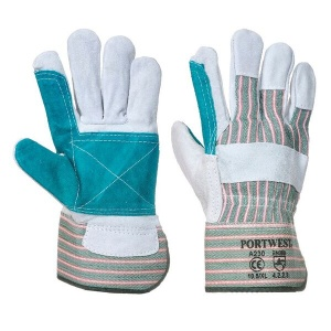 Portwest A230 Heat-Resistant Reinforced Leather Rigger Gloves