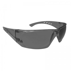 Portwest Smoke Lens Clear View Safety Glasses PW13SKR