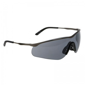 Portwest Tech Metal Spectacle Smoke Safety Glasses PS16SKR