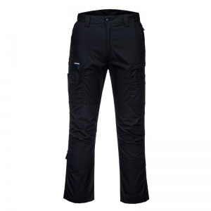 Portwest T802 KX3 Ripstop Black Work Trousers