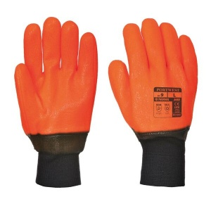 Portwest A450 All-Weather PVC Thermal Gloves