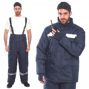 Portwest Cold Store Trousers and Jacket Bundle