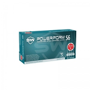 PowerForm S6 N20036 Powder-Free Industrial Nitrile Gloves