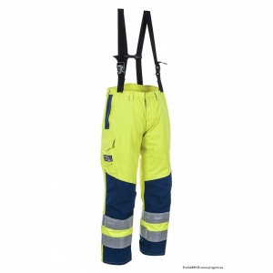 ProGARM 9880 Waterproof Arc Flash Hi Vis FR Salopettes