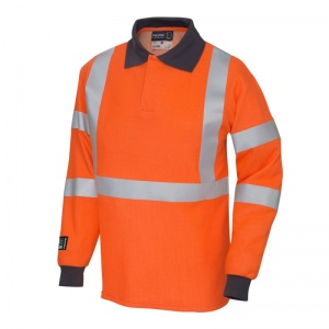 ProGARM 5290 Hi-Vis Orange Arc Flash Polo Shirt