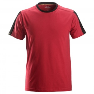 Snickers 2518 AllRoundWork Classic Red Shirt