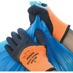 Polyco Reflex Hydro Thermal-Insulated Hi-Vis Handling Work Gloves RHD