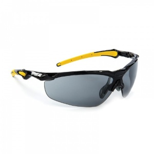 Riley Elipta Smoke-Tinted Sportstyle Safety Glasses RLY00062