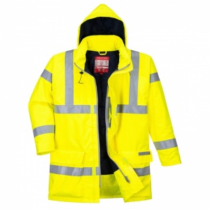 Portwest S778 Bizflame Rain Hi-Vis Anti-Static Jacket