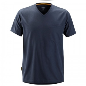 Snickers 2524 Navy AllRoundWork Short Sleeve T-Shirt
