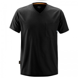 Snickers 2524 Black AllRoundWork Short Sleeve T-Shirt