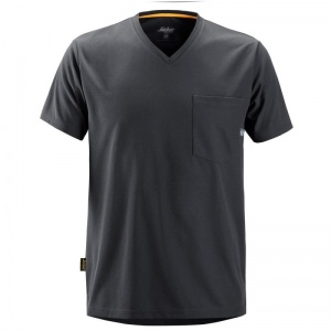 Snickers 2524 Grey AllRoundWork Short Sleeve T-Shirt