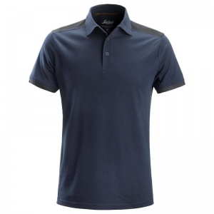 Snickers 2715 AllRoundWork Navy and Grey Polo Shirt