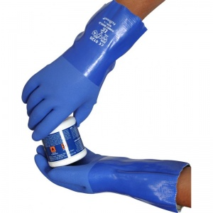 UCi PVC Chemical-Resistant Grip Gauntlet Gloves R530