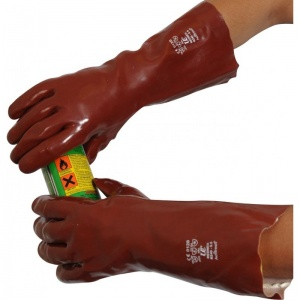 UCi 16'' PVC Chemical-Resistant Gauntlets R240