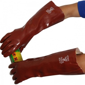 UCi 18'' PVC Chemical-Resistant Gauntlets R245