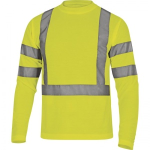 Delta Plus STAR Hi-Vis Yellow T-Shirt with Sleeves